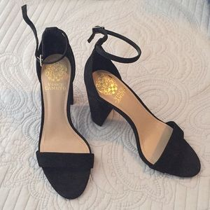 Vince Camuto strapping block heel
